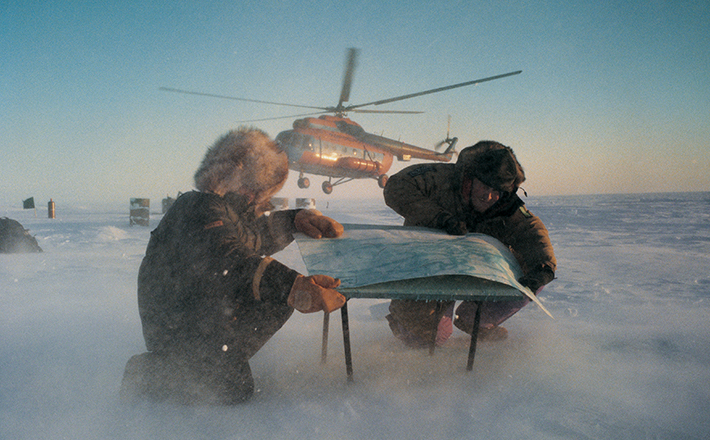 Olly Williams - Arctic expedition outfitter